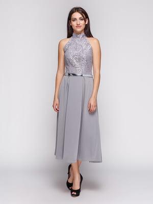 Платье серое | 3851914