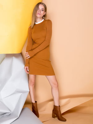 Платье коричневое | 3786920