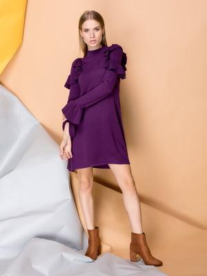 Платье фиолетовое | 3902432