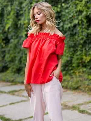 Блуза червоного кольору | 3328779