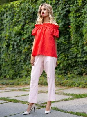 Штани персикового кольору | 3295528