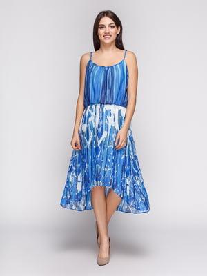 Сукня абстрактного забарвлення   4575138