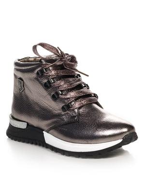 Ботинки цвета никеля | 4574854