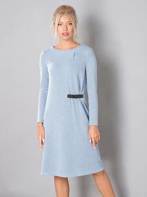 Платье голубое | 3766811
