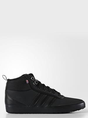 Кроссовки черные зимние | 4556387