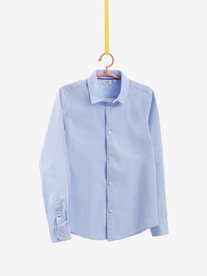 Сорочка блакитна | 4581696