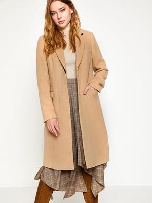 Пальто бежевое | 4583400