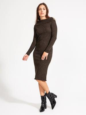 Платье коричневое | 4584099
