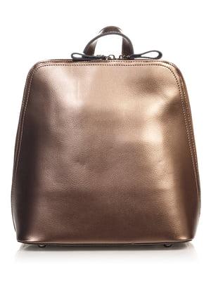 Рюкзак темно-бронзового цвета   4576342