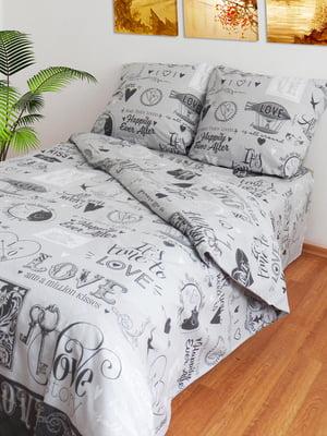Комплект постельного белья двуспальный (евро) | 4583792
