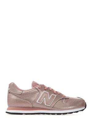 Кроссовки розовые New Balance 500 | 4579000