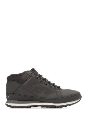 Кросівки чорні New Balance 754 Fur | 4579006