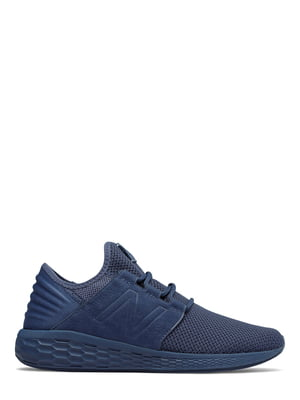 Кроссовки синие New Balance Fresh Foam Cruz V2 Nubuck | 4579053