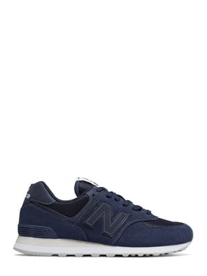 Кроссовки синие New Balance 574 | 4579063