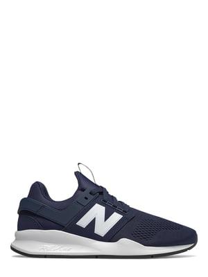 Кроссовки синие New Balance 247 | 4579078