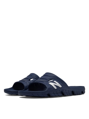 Шлепанцы синие New Balance 104 | 4579103