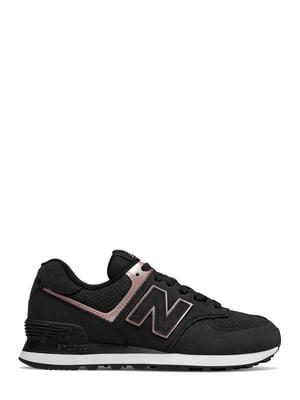 Кроссовки черные New Balance 574 | 4579138