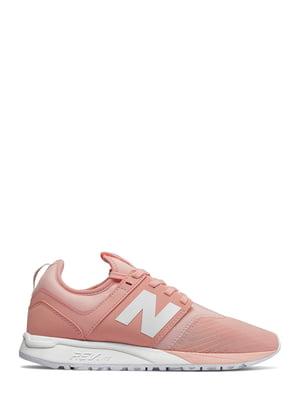 Кроссовки розовые New Balance 247v1 | 4579146
