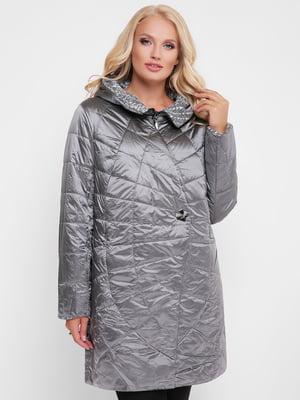 Куртка сіра | 4081207