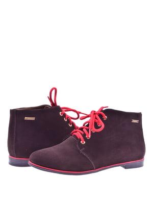 Ботинки коричневые | 4586949