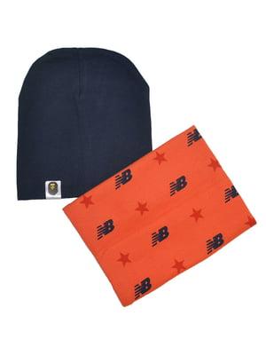 Комплект: шапка и снуд   4588086