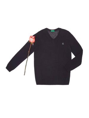 Пуловер синій | 1926745