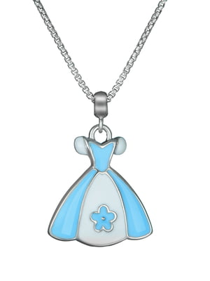 Кулон на серебряной цепочке «Платье»   4588734
