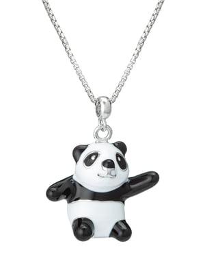 Кулон на серебряной цепочке «Панда»   4588769