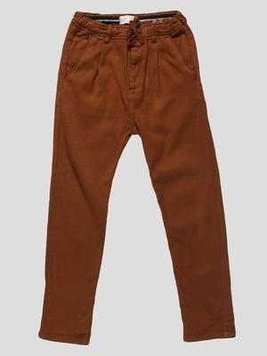 Штани коричневі | 4534548