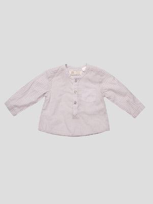 Блуза в клітинку | 4520853