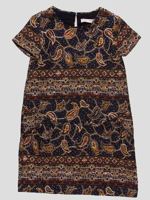 Платье в рисунок пейсли   4519849