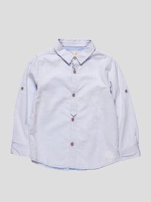 Рубашка голубая | 4505845