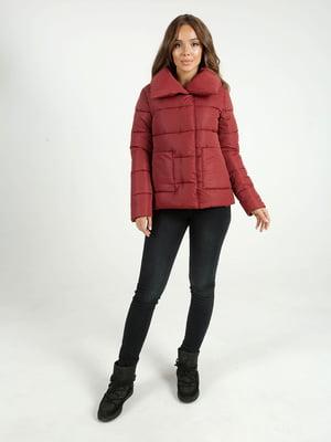 Куртка бордова | 4588268