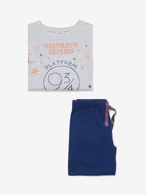 Піжама: лонгслів і штани | 4582046