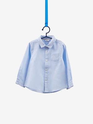 Сорочка блакитна | 4534149