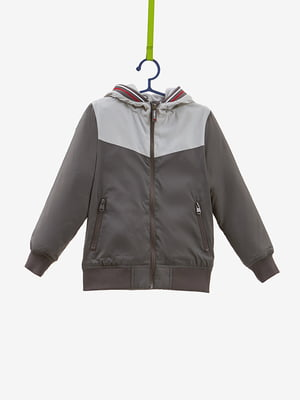 Куртка сіра | 4581918