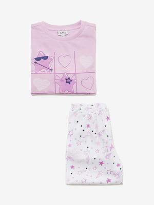 Піжама: лонгслів і штани | 4582168