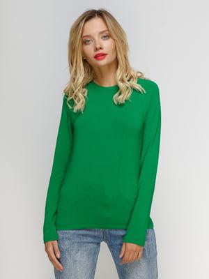 Лонгслив зеленый | 4577821