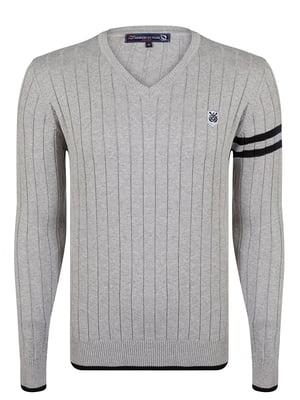 Пуловер сірий   4489261