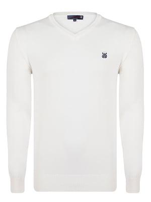 Пуловер молочного цвета | 4489265