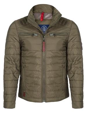 Куртка кольору хакі | 4592762
