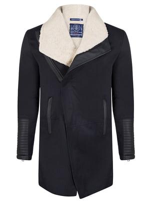 Пальто темно-синє | 4592763