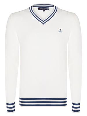Пуловер молочного кольору | 4592789