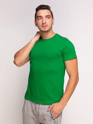Футболка зелена | 4578631