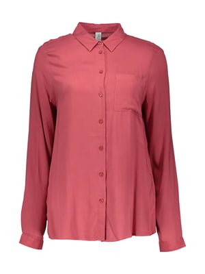 Рубашка бордовая | 4507829