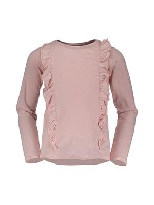 Лонгслів рожевий | 4580628