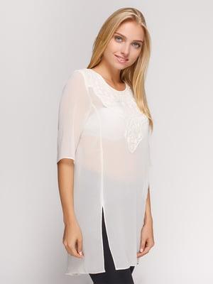 Блуза белая   4522100