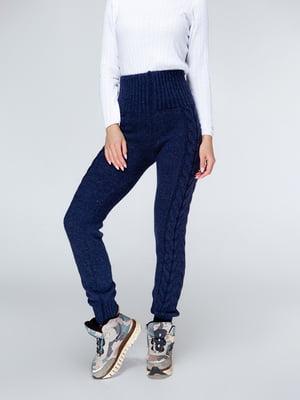 Брюки цвета джинс | 4579386