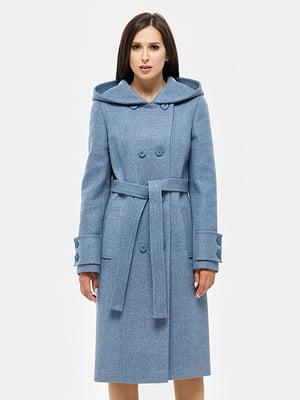 Пальто голубое - DANNA - 4599081