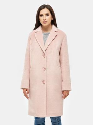Пальто розовое | 4599085